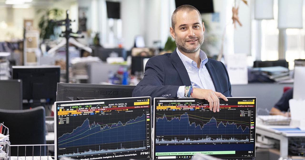 Luis García Langa, Analista financiero, Corredor de Fondos