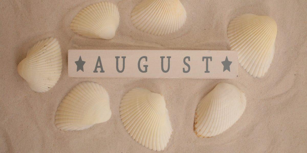 Bolsas en agosto